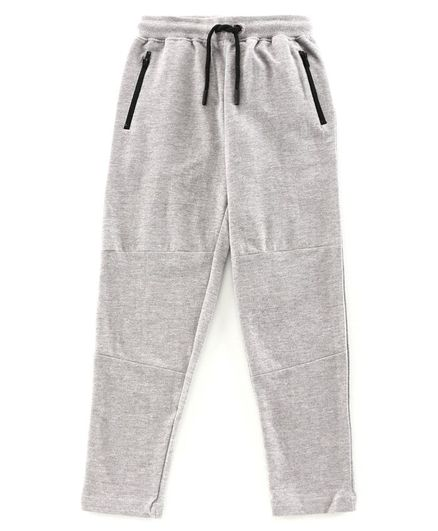 Pine Kids Full Length Biowashed Lounge Pant With Drawstring - Grey
