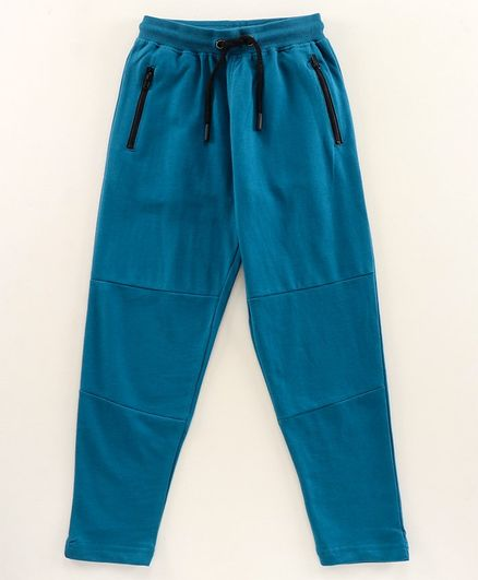Pine Kids Full Length Biowashed Lounge Pant - Blue
