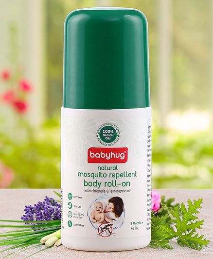 Babyhug Mosquito Repellent Body Roll On - 40 ml