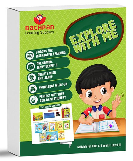 Bachpan Explore With Me Books Set of 11 - English