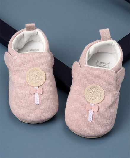 KIDLINGSS Candy Patch Booties - Pink