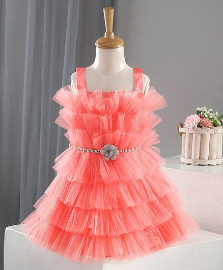 Bluebell Singlet Party Frock - Pink