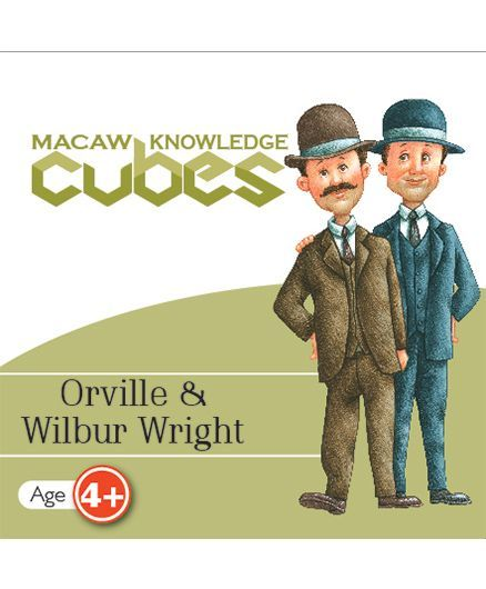Macaw Scientist Cube - Orville & Wright Brothers