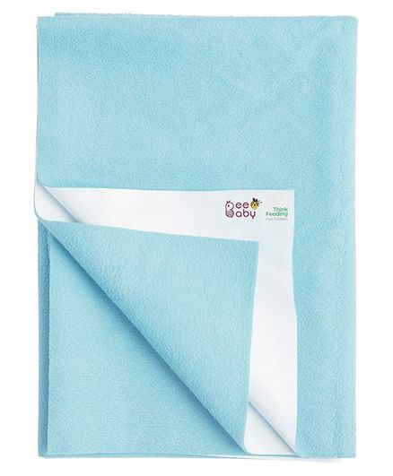 BeeBaby UltraDry Mattress Protector Sheet Small Size - Blue