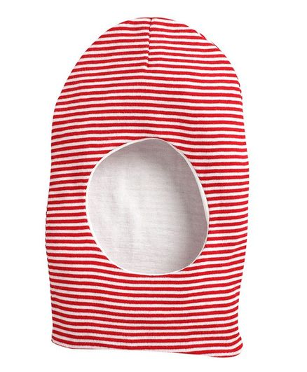 BUMZEE Striped Monkey Cap - Red