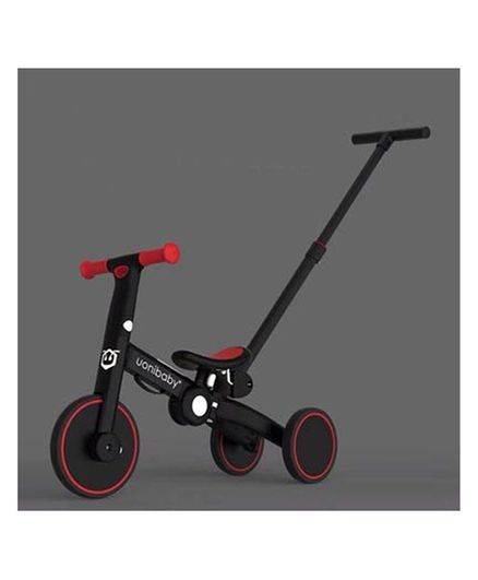 StarAndDaisy Uonie Tricycle - Red and Black