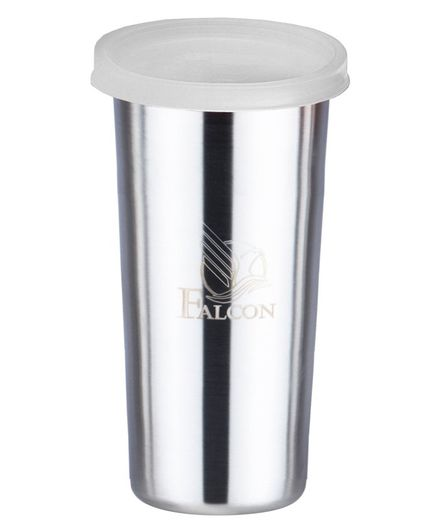 Falcon Stainless Steel Tumbler White - 520 ml