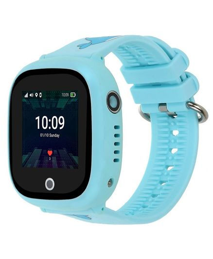 Turet Goldfish Kids Phone Smartwatch with GPS Locator - New Blue