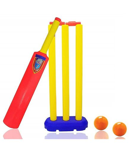 VWorld Junior Cricket Set Multicolour - 6 Pieces