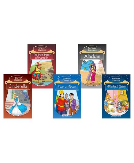 Maple Press Forever Classics Story Books Set of 5 - English