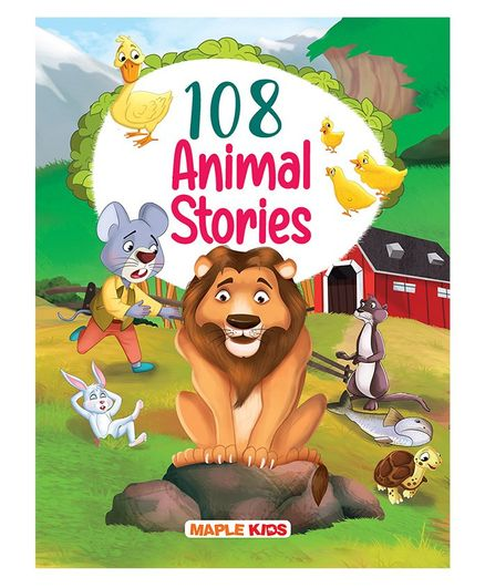 Maple Press 108 Animal Stories - English