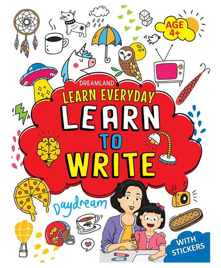 Dreamland Publications Learn Everyday Learn to Write - English