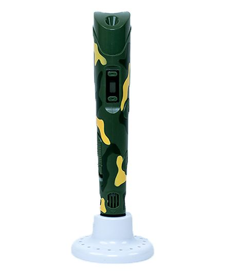 3D Print World Magic Pen Camouflage Print - Green