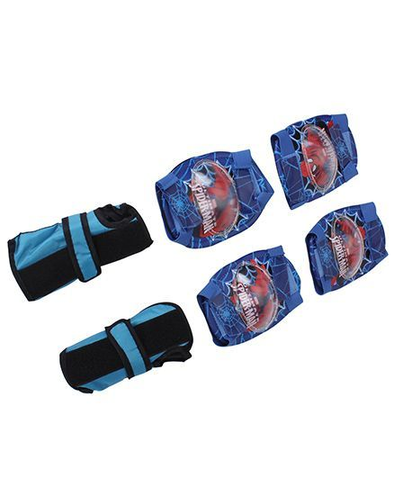 Marvel Spider Man Protective Set - Blue