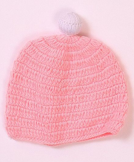 USHA ENTERPRISES Solid Colour Cap - Pink