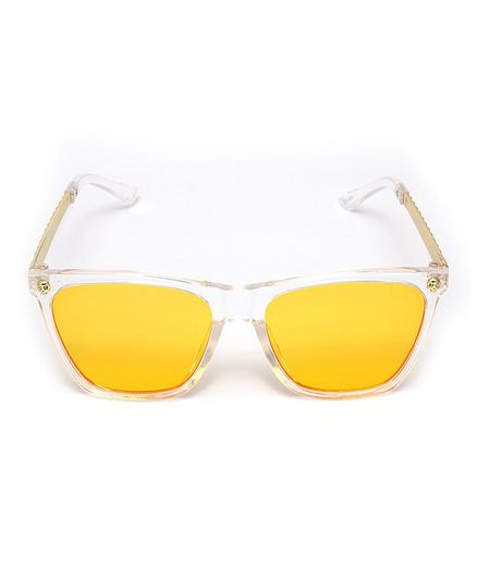 KIDLINGSS Skull Sunglasses - Yellow
