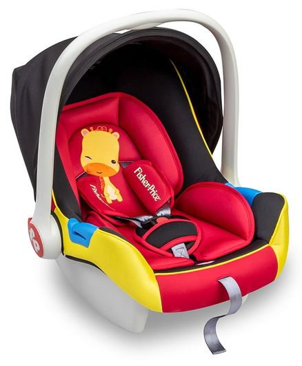 Fisher Price Infant Car Seat cum Carry Cot - Red