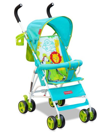 Fisher Price Lil Master Stroller - Multicolor