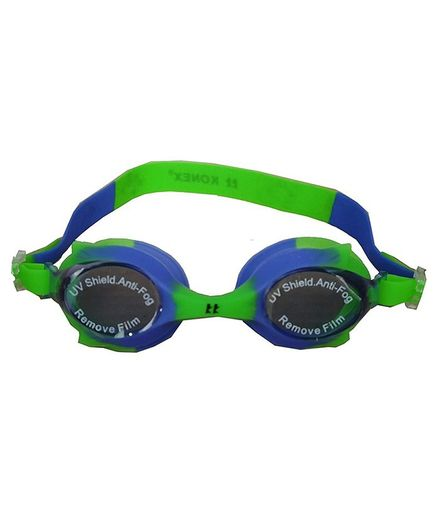 Tahanis Anti Fog UV Protected Silicone Swimming Goggles - Green