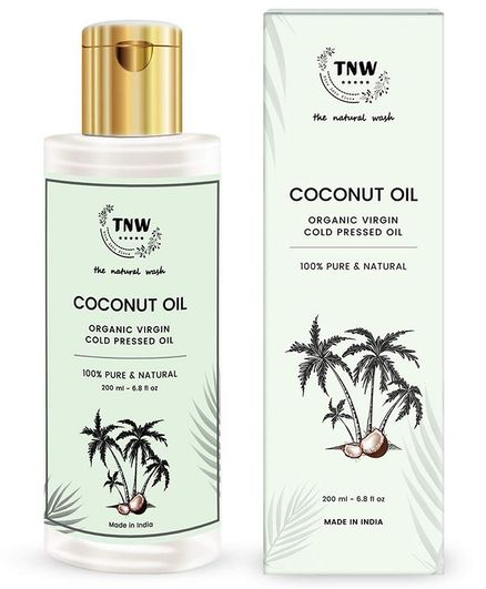 TNW-The Natural Wash Cold Pressed Virgin Coconut Oil - 200 ml