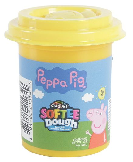 Soft Touche Peppa Pig Softee Dough Tub (Color May Vary)