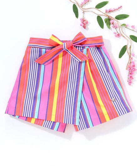 Ed-a-Mamma Striped Shorts - Multi Colour