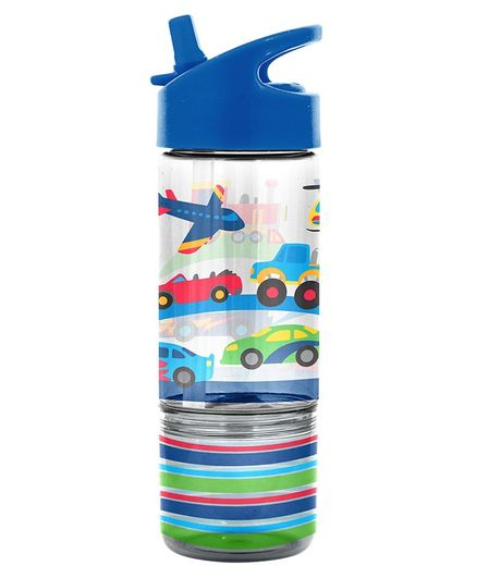 Stephen Joseph Sipper Water Bottle Transportation Print - 350 ml