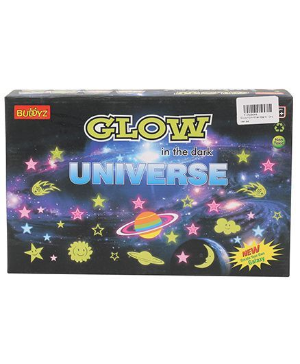 Buddyz Glow-in-the-Dark Universe Sticker