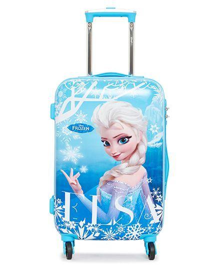 ee38027e75 Disney Frozen Trolley Bag Elsa Print Blue 20 Inches Online in India ...