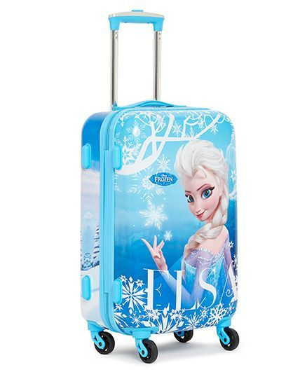 ee38027e75 Disney Frozen Trolley Bag Elsa Print Blue 20 Inches Online in India ...