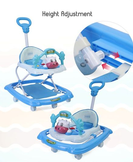 56848450d87 Babyhug Tiny Trotter Musical Baby Walker Blue Online in India
