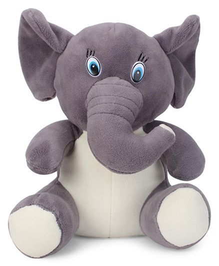 Play Toons Elephant Soft Toy 21 cm (Color May Vary)