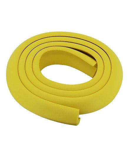 Kuhu Creations Edge & Corner Guards Crash Bar Children Safety Edge Guards Strip - Yellow