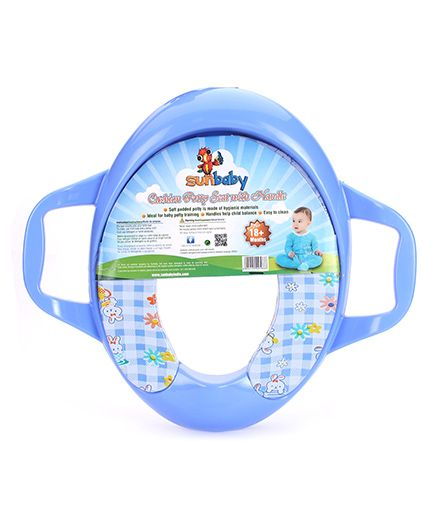 Sunbaby Cushion Potty Seat With Handle (Print May Vary)