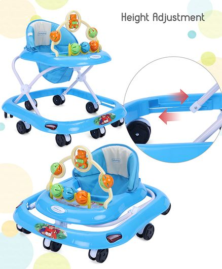 fa80428b1e1 Babyhug Jolly Stroll Baby Walker With Music Blue Online in India ...