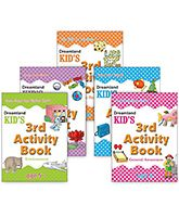 Kid's Activity books set of 5