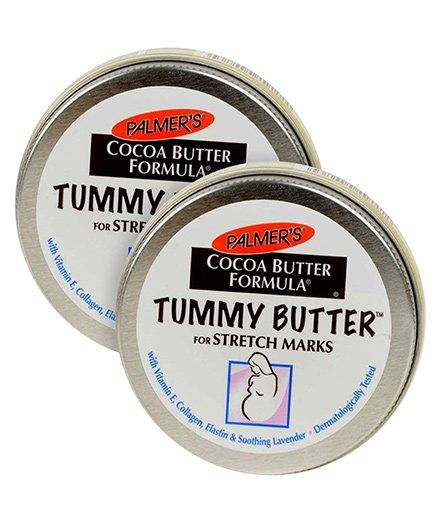Palmers Cocoa Butter Formula Tummy Butter For Stretch Marks - 125 Grams Pack of 2