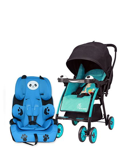 fa9df386f63 Buy R for Rabbit Poppins An Ideal Pram For Moms - Blue   Black AND R ...