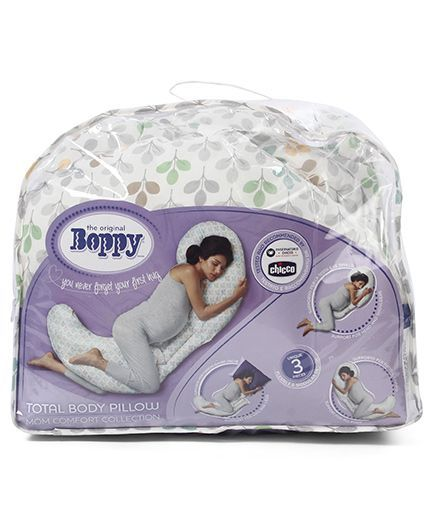 Boppy Full Body Pillow.Chicco Boppy Pillow Total Body White Info