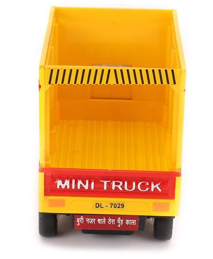 Centy Pull Back Tata Ace Freight Carrier - Yellow +info