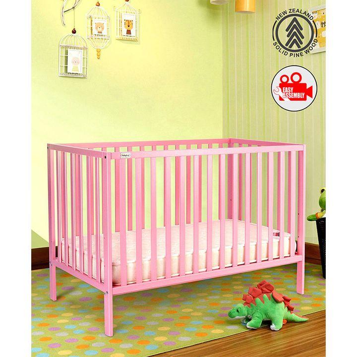 Incredible Babyhug 3 Level Height Adjustable Visby Wooden Cot Pink Info Spiritservingveterans Wood Chair Design Ideas Spiritservingveteransorg