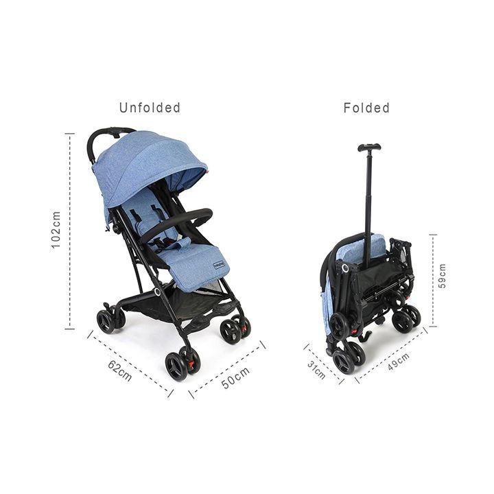 Zerodis baby pram handle cover stroller accessories blue dustproof non-slip cover
