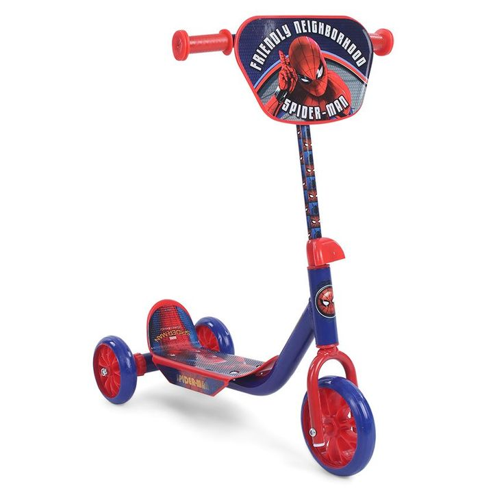 Marvel Spider Man Homecoming 3 Wheel Scooter - Royal Blue +info