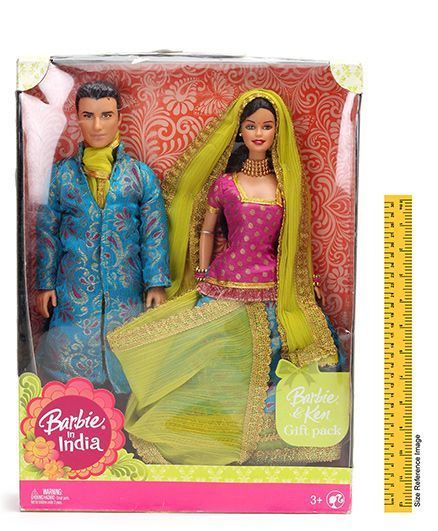 Barbie In India Barbie And Ken Gift Pack Online India Buy Dolls And Dollhouses For 3 6 Years At Firstcry Com 234912
