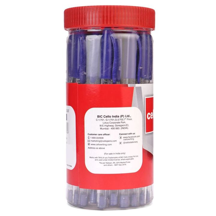 Cello Trimate Pens Blue Set Of 25 Online in India, Buy at