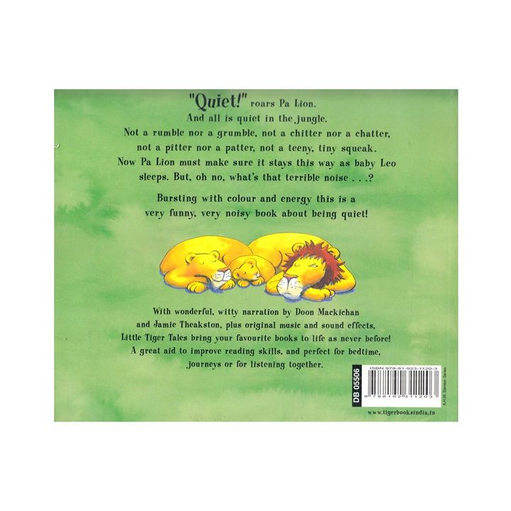 Quiet Picture Book & CD Set English Online in India, Buy at Best Price from  Firstcry com - 2398858