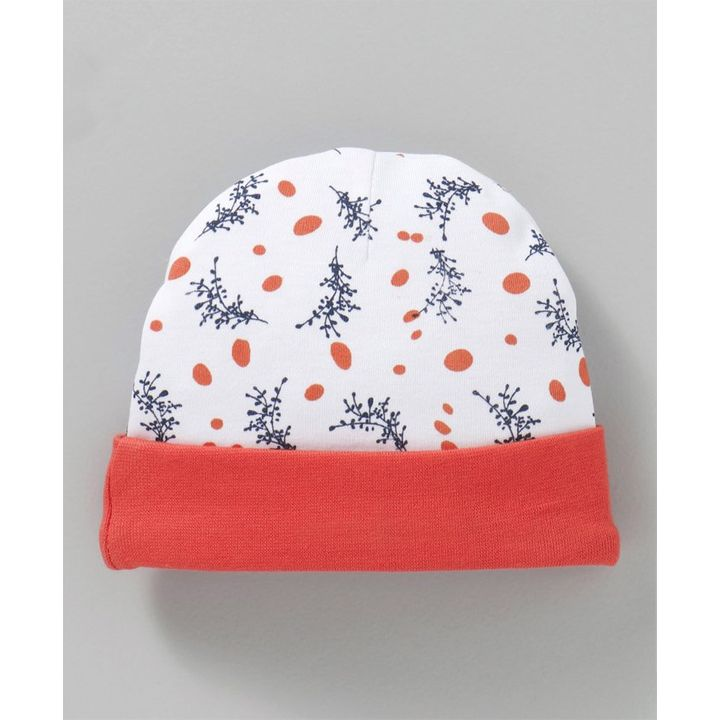 ffbca2ad Babyhug Cotton Cap Tree Print White Orange Online in India, Buy at Best  Price from Firstcry.com - 2419210