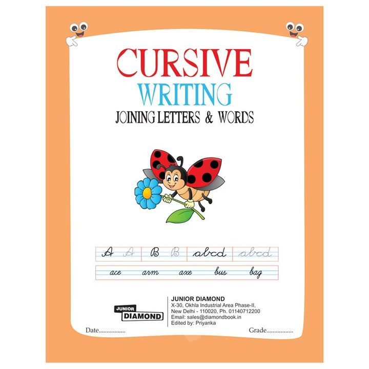 Cursive Writing Joining Letters & Words - English +info