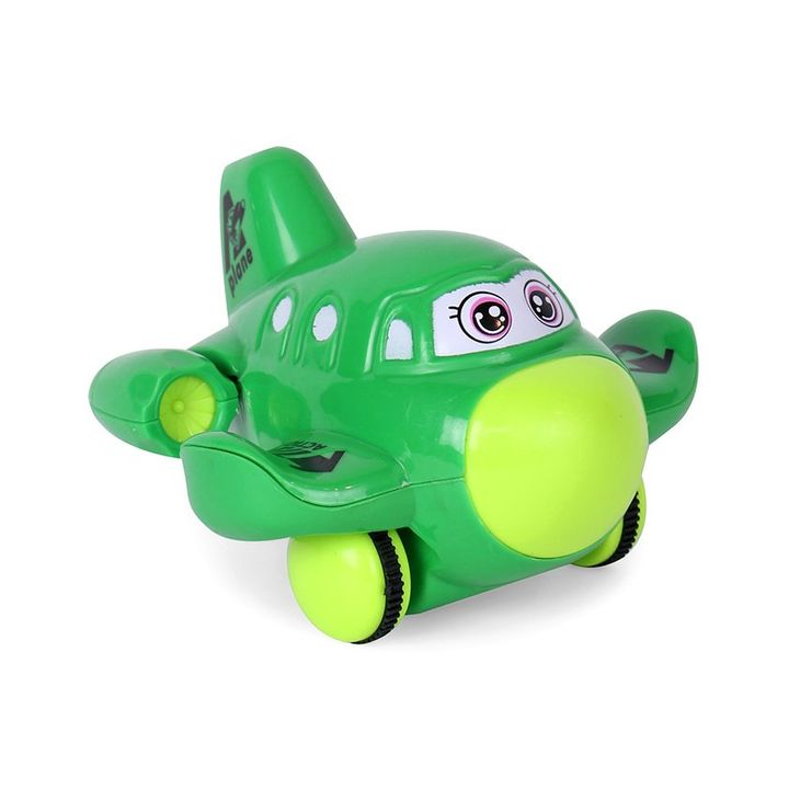 Playmate Friction Powered Toy Plane - Dark Green +info