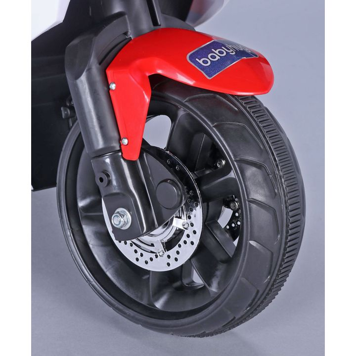 Babyhug Battery Operated Ride On Bike Red Online in India, Buy at Best  Price from Firstcry com - 2613782